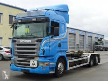 Scania R 480*Euro5*Schalter*Klima*Lift- portacontenedor de cadenas usado