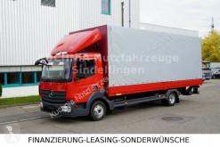 Kamión Mercedes Atego 818L Pritsche 7,22m LBW Klima Euro-6 valník s bočnicami a plachtou ojazdený