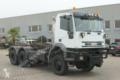 Camión multivolquete Iveco MP260E38W 6x6. Multilift LHS-260.46, Anbauplatte