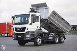 MAN TGS - / 33.480 / E 6 / 6 X 4 HYDROBURTA 3 STRONNY WY truck used tipper