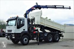 Камион Iveco 330 Kipper 5,10m +Bordmatic/Kran*6x4*Topzustand самосвал втора употреба