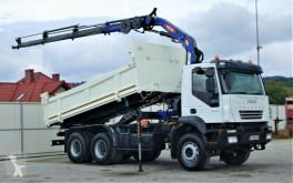 Камион Iveco 330 Kipper 5,10m +Bordmatic/Kran*6x4*Topzustand платформа втора употреба