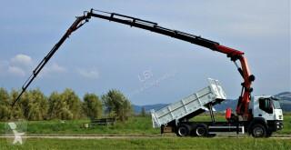 Камион Iveco Trakker 350 KIPPER 4,90+KRAN+JIB+FUNK*6x4 платформа втора употреба