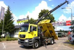 Camión volquete MAN TGS 18.320 4x4 H HIAB 111 Cran Kran