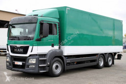 Camion MAN TGS 26.400 Retarder Lenkachse ACC Lbw 2,5t furgon second-hand