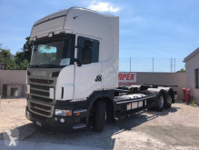 Camion Scania R 440 porte containers occasion