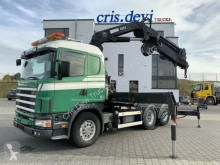 Cabeza tractora Scania R R164 480 GB 6x4 V8 Hiab 400 E-7 Seilwinde | SZM