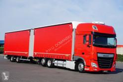 Camión DAF - 106 / 460 / SSC / ACC / E 6 / ZESTAW PRZEJAZDOWY + remorque lonas deslizantes (PLFD) usado