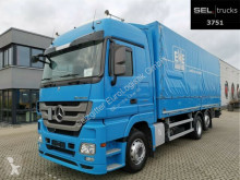 Camion Mercedes Actros 2536 L/Lenk-Liftachse/Retarder/Lade savoyarde occasion