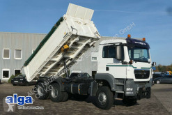 MAN 26.400 TGS BB 6x6, Allrad, Euro 5, AHK,Hydraulik truck used three-way side tipper