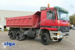 Camion tri-benne Mercedes Actros 3346 AK Actros 6x6, Allrad, Bordmatik, Blattfe.