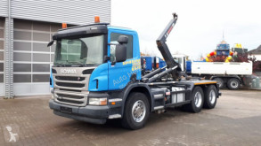 P 420 6x4 Abrollkipper 3,7mRadstand Schalter top truck used hook arm system