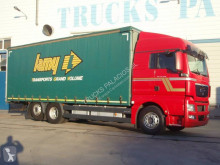 MAN TGX 26.480 truck used tautliner