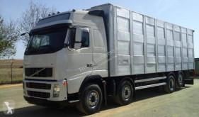 Volvo livestock trailer truck