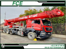MAN TGS 35.440 truck damaged telescopic articulated aerial platform