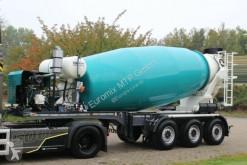 Concrete mixer truck EUROMIX MTP 12m³ Mischauflieger