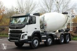 Camión hormigón cuba / Mezclador Volvo FMX 430 8x4 /EuromixMTP EM 10m³ Vermietung