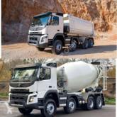Camion benne Volvo FMX 430 8x4 WECHSELSYSTEM KIPPER+MISCHER
