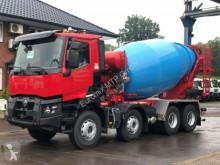 Teherautó Renault C-Series C480 8x4 / EuroMix MTP 10m³ L használt betonkeverő beton