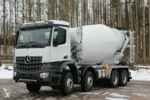 Camião Mercedes AROCS 5 4142 8x4 Euro6d EuromixMTP EM 12m R betão betoneira / Misturador usado