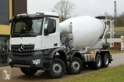 Camion Mercedes AROCS 5 4142 8x4 / Euro6d EuromixMTP EM 10m R béton toupie / Malaxeur occasion