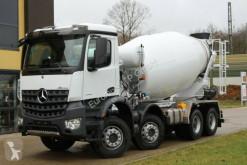 Mercedes AROCS 5 4142 8x4 / Euro6d EuromixMTP EM 10m R truck used concrete mixer