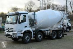 Camião Mercedes AROCS 5 4142 8x4 Euro 5/ EuromixMTP EM 12m R betão betoneira / Misturador usado