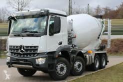 Mercedes Arocs 5 3540 8X4 / Euro6d EuromixMTP EM 10 L truck used concrete mixer