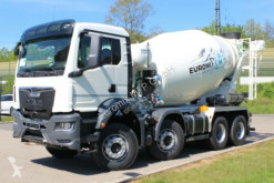 MAN TGS 41430 8X4 Euro6d EuromixMTP 9m³ truck used concrete mixer