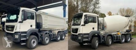 Camion dublu MAN TGS 41.430 8x4 WECHSELSYSTEM KIPPER+MISCHER