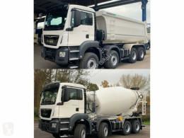 Camion MAN TGS 41.430 8x4 WECHSELSYSTEM KIPPER+MISCHER benne occasion