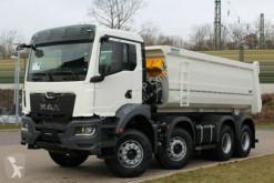 MAN skip truck TGS 41.430 8x4 / Kipper 18m³ / EURO 6