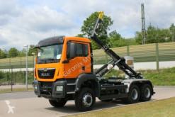 MAN TGS 33.430 6x6 Euro6d Abrollkipper Hyva truck used skip