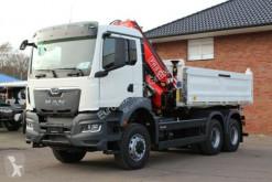 Ciężarówka MAN TGS 33.430 6x4 /3-Seiten- Kipper / Kran HIAB 228 wywrotka używana