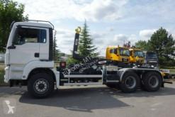 Camion MAN TGS 33.430 6x4 / Euro6d Abrollkipper Hyva multibenne occasion