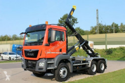 MAN TGS TGS 33.430 6x4 / Euro6d Abrollkipper Hyva truck used hook lift
