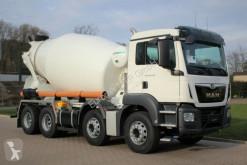 Camion MAN TGS 32.430 8x4 / Euromix MTP EM 9m³ L EURO6d béton toupie / Malaxeur occasion