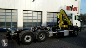 Камион мултилифт с кука MAN TGS TGS 26.470 / 6X2 Kran Hyva Euro6d Retarder