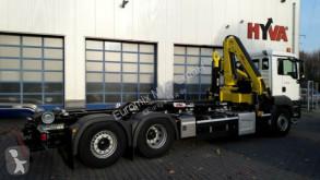 Camión multivolquete MAN TGS 26.470 / 6X2 Kran Hyva Euro6d Retarder