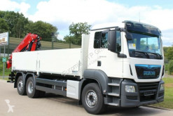 Camion MAN TGS 26.430 / Euro6d gelenktAchs 6X2 FASSI F195 occasion