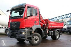 Camion MAN TGS TGS 18.400 TG3 4x4 Euro6d FASSI 155 ribaltabile usato
