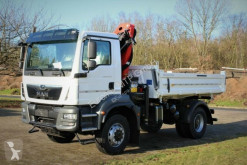Camion MAN TGM 18.320 4x4 Euro6d Hiab X-HiDuo 138DS-3 benne occasion