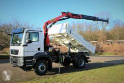 Camión caja abierta MAN TGM 18.320 4x4 Euro6d Palfinger PK 11001