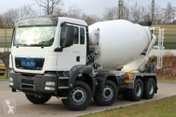 Kamion beton frézovací stroj / míchačka MAN 41.400 8x4 / EuromixMTP EM 10m³ R / EURO 3