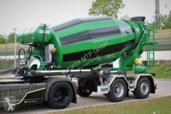 Vrachtwagen beton molen / Mixer EUROMIX10m³ Fahrmischer Auflieger gelenkte Achs