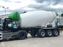 Concrete mixer concrete semi-trailer EUROMIX MTP 15m³ Mischauflieger