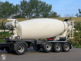 Náves betonárske zariadenie domiešavač EUROMIX MTP 12m³ Betonmischer Auflieger