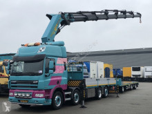 DAF CF tractor-trailer used flatbed