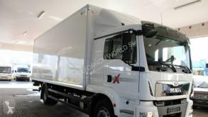 MAN TGM18.290 Closed box truck with liftgate truck used box