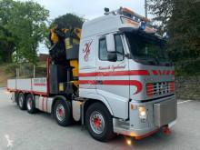 Camion plateau ridelles Volvo FH480 Crane truck PK65002-SH